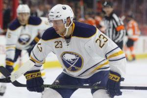 Sam Reinhart , Philadelphia Flyers vs Buffalo Sabres - October 25, 2016 (Amy Irvin / The Hockey Writers)