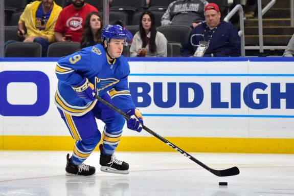 St. Louis Blues Sammy Blais