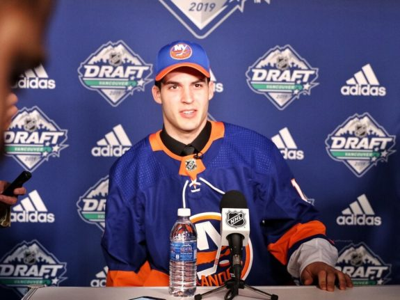 Samuel Bolduc New York Islanders Draft