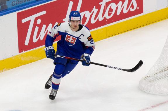 Samuel Knazko Slovakia 2021 World Juniors