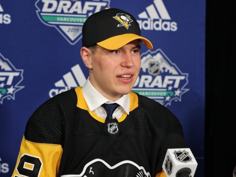 Samuel Poulin Penguins Draft