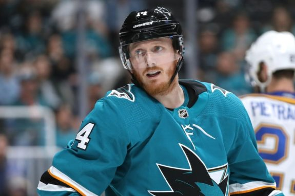 San Jose Sharks Gustav Nyquist