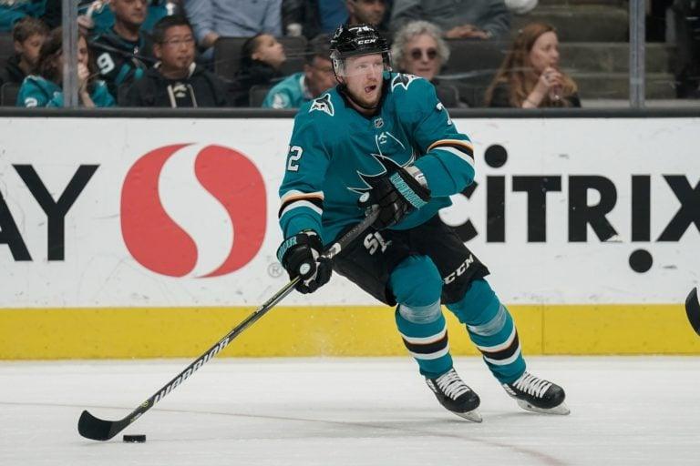 San Jose Sharks Tim Heed