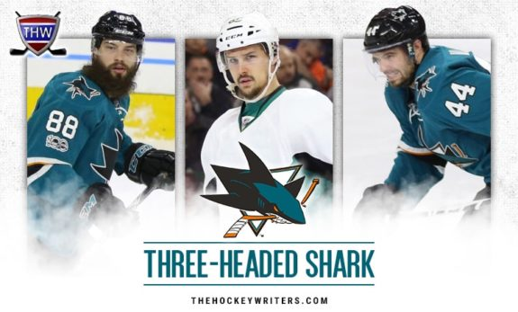Brent Burns Erik Karlsson Marc-Edouard Vlasic