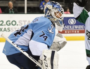 Juuse Saros was one of the top goalies in the AHL last year(Michael Connell/Texas Stars Hockey)