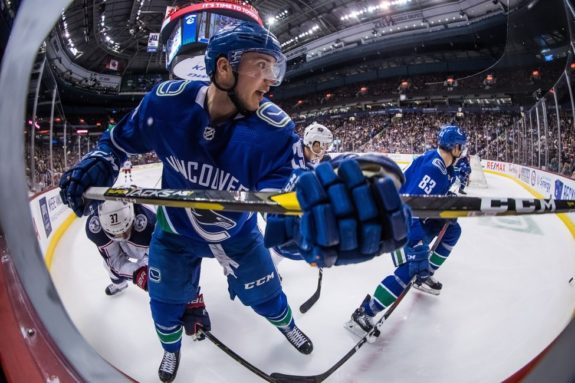 Vancouver Canucks' Ashton Sautner
