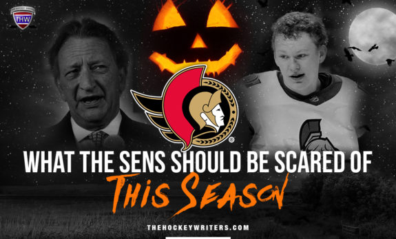What the Senators should be scared of this season Ottawa Senators Halloween
