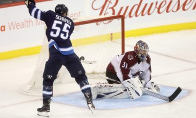 Jets Bury Avalanche - Wheeler Tallies 4 Points