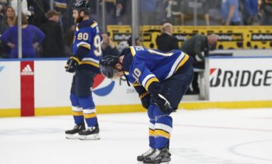 "Blues Playing ""Desperation Level"" Hockey - Stars ""Staying in the Moment"""