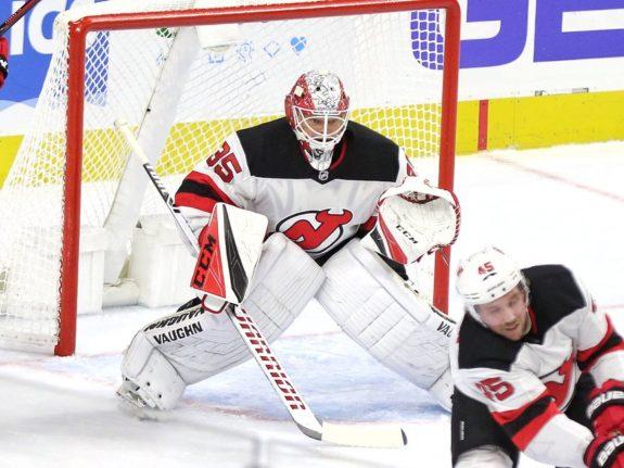 Corey Schneider New Jersey Devils