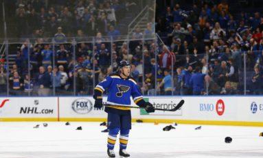 Schwartz Redeems Season, Saves Series for Blues