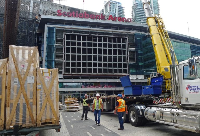 Scotiabank Arena construction