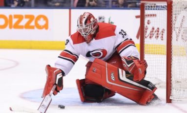Hurricanes' Scott Darling Doing Work