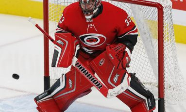 Carolina Hurricanes' Scott Darling from Gym to Ice