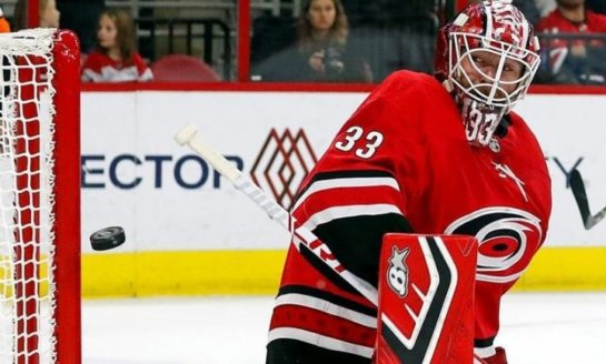 Red Wings Overcome Hurricanes - Win in Shootout