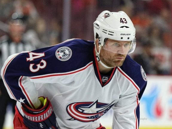 Scott Hartnell, Columbus Blue Jackets, NHL