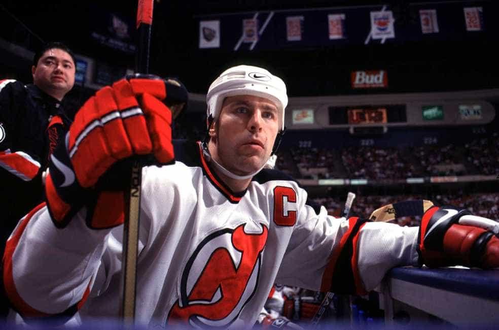 brand new d0f51 db757 New Jersey Devils Scott Stevens - Dirty or Tough?