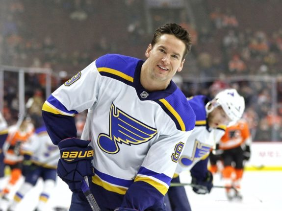 Scottie Upshall St. Louis Blues