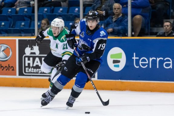 Saint John Sea Dogs Joshua Roy