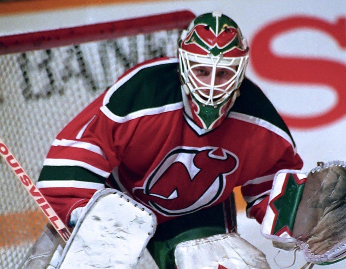 Sean Burke New Jersey Devils