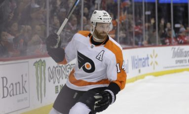 Couturier, Konecny Lift Flyers over Hurricanes 4-1