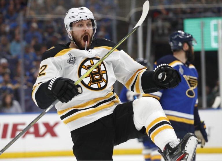 Boston Bruins Sean Kuraly