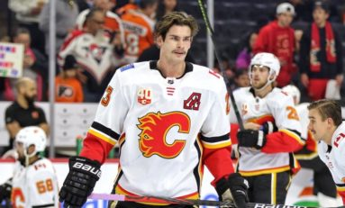Monahan Scores Shootout Winner as Flames Edge Rival Oilers 4-3