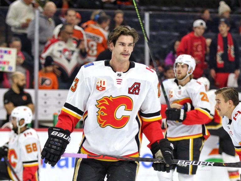 Sean Monahan Calgary Flames