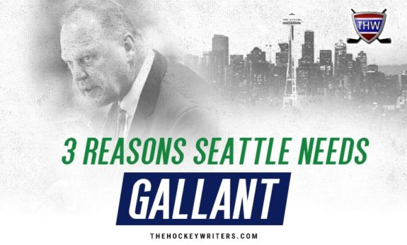 Gerard Gallant NHL Seattle Expansion 3 Reasons Seattle Needs Gallant