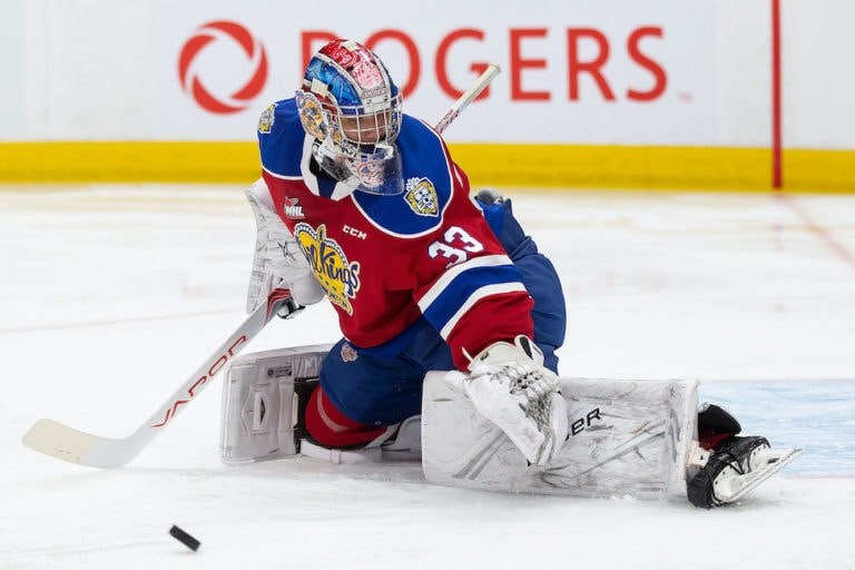 Sebastian Cossa Edmonton Oil Kings
