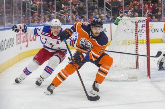 New York Rangers Jesper Fast Edmonton Oilers Andrej Sekera