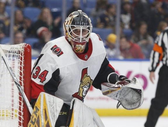 Ottawa Senators Joey Daccord