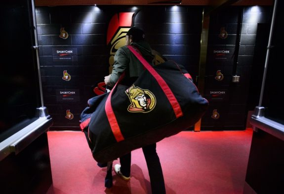 Ottawa Senators locker clean-out day
