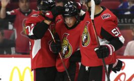 Ennis Records Three Points to Help Lift Senators over Oilers 5-2