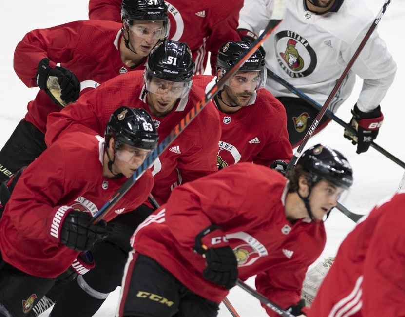 Ottawa Senators training camp