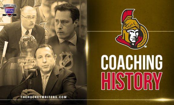 Paul Maclean, Guy Boucher, and Jacques Martin Ottawa Senators' Coaching History