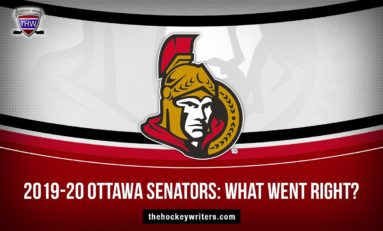 2019-20 Ottawa Senators: What Went Right?