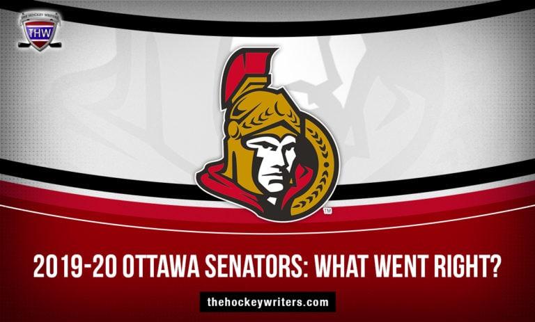 2019-20 Ottawa Senators: What Went Right?