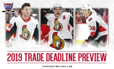 Senators 2019 Trade Deadline Preview