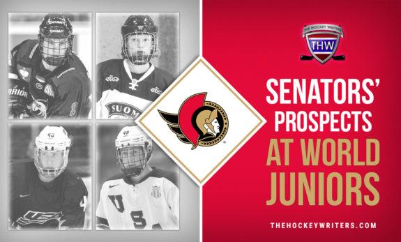 Ottawa Senators' Prospects at World Juniors Tim Stutzle, Jake Sanderson, Tyler Kleven & Roby Jarventie
