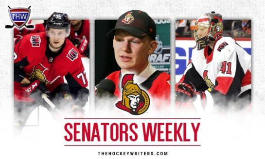 Senators' Weekly: Young Stars, Goaltending & More
