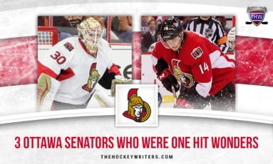 3 Ottawa Senators Who Were One-Hit Wonders