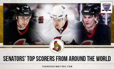 Senators' Top Scorers From Around the World