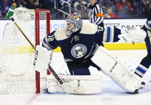 Sergei Bobrovsky is a major reason why the Blue Jackets can complete comebacks. (Aaron Doster-USA TODAY Sports)