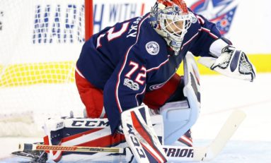 Sergei Bobrovsky Shining at Christmas Time