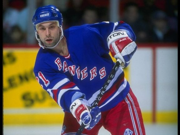 Sergei Zubov of the New York Rangers