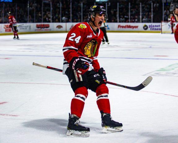 Seth Jarvis Portland Winterhawks