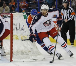 Seth Jones is deceptively fast, and that's good for Columbus. (Perry Nelson-USA TODAY Sports)