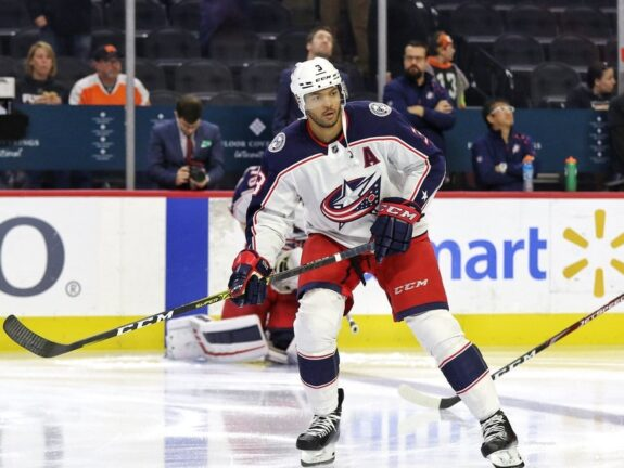 Seth Jones Columbus Blue Jackets