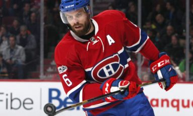 Canadiens Defenseman Weber Shouldn't Be a Hero